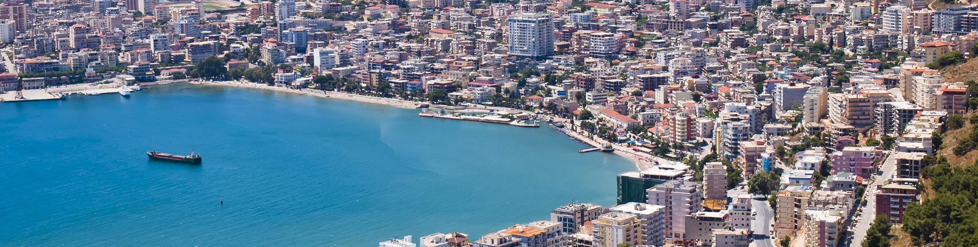 Albania Kartta Kartat Albania Etela Euroopassa Eurooppa